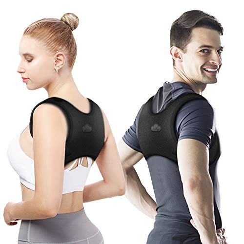 Posture Corrector For Men And Women, Y YDDG Adjustable Upper Back Posture Brace For Clavicle Support and Providing Pain Relief From Neck, Back and Shoulder