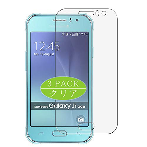 VacFun 3 Piezas HD Claro Protector de Pantalla Compatible con Samsung Galaxy J1 Ace 2015 J110M / J110F / J110G / J110L, Screen Protector Película Protectora (Not Cristal Templado) New Version