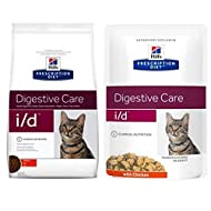 Digestive Hill's Prescription Diet Feline I/d Care - Chicken - 1.5kg I/d Care Dry Cat Food With 12x8...