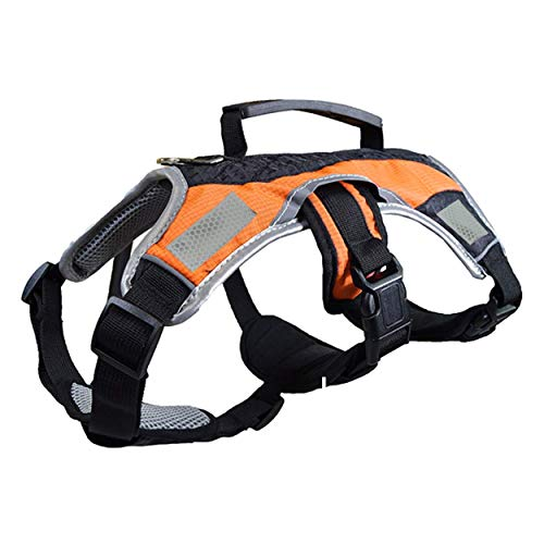 Peak Pooch Dog Walking Lifting Carry Harness, Support Mesh Padded Vest, Accessory, Collar, Lightweight, No More Pulling, Tugging or Choking, for Puppies, Small Dogs (Hunting, Medium)
