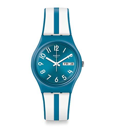 Swatch Orologio Analogico Quarzo Unisex Adulto con Cinturino in Silicone GS702