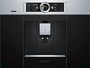 Bosch CTL636ES6 2.4L Black,Stainless steel coffee maker - coffee makers (Built-in, Fully-auto, Espresso machine, Coffee beans, Black, Stainless steel, TFT)