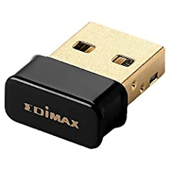 N150: Complies with wireless 802.11b/g/n standards with data rate up to 150Mbps (2.4GHz). New generation of N150 Wi-Fi Adapter powered by RTL8188EUS Secure Wi-Fi: Features 64/128-bit WEP, WPA, WPA2 encryption for high level of security. One-Click Wir...