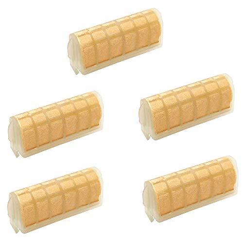 KingFurt 5Pcs Air Filter For Stihl 021 023 025 MS210 MS230 MS250 1123 120 1613 Chainsaw