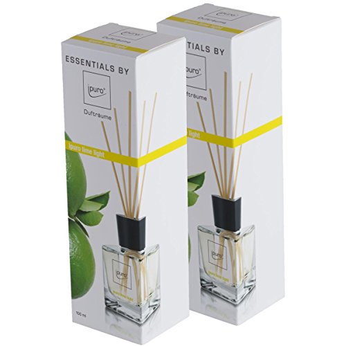 Essentials by ipuro Lime Light 100ml Raumduft (2er Pack)