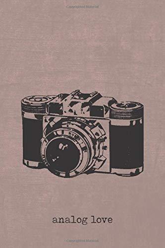 Analog love: Notizbuch, Tagebuch oder Erfolgsjournal für Fotografen oder Filmemacher