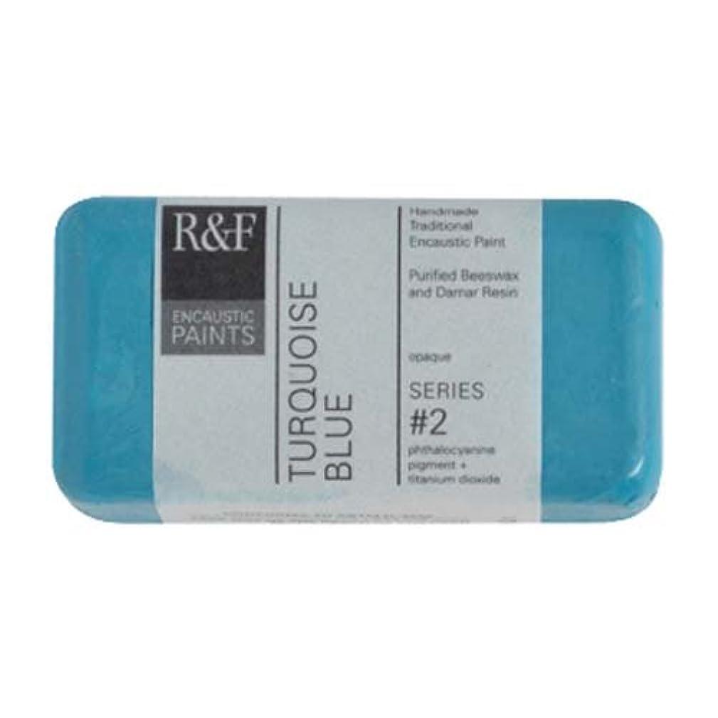 R&F Encaustic 40ml Paint, Turquoise Blue
