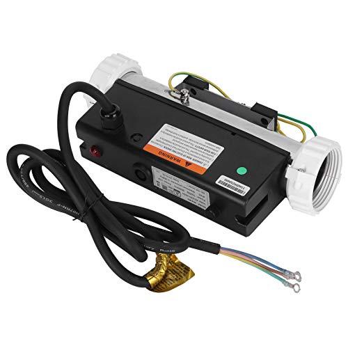 BHDD Spa-Pool-Heizungs-Thermostat, 1 kW wasserdicht Anwendbarer 220-l-elektrischer Pool-Warmwasserbereiter Konstanttemperatur-Heizung Warmwasserbereiter-Thermostat-Heizungspumpe für Badewanne