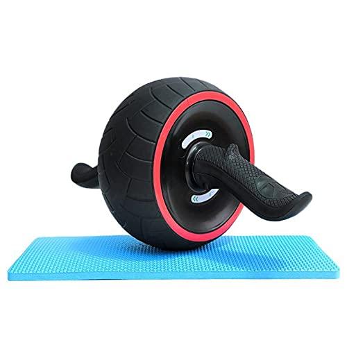 Rueda abdominales para hacer deporte en casa. Rodillo abdominales Fitness. Ideal para hacer ejercicio en casa. Entrenamiento en casa. Rueda abdominal para hacer abdominales en casa. Gym en casa.