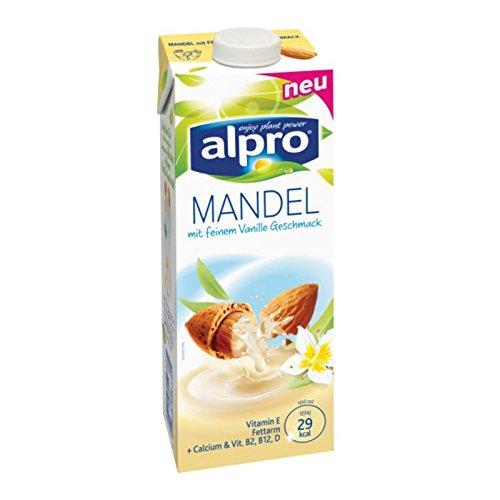 Alpro Mandel Drink Vanille - 1 l Mandelmilch vegan