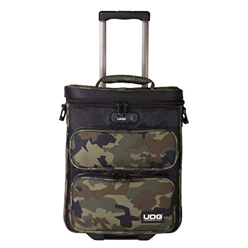 UDG Ultimate DIGI Trolley To Go Black Camo Orange Inside