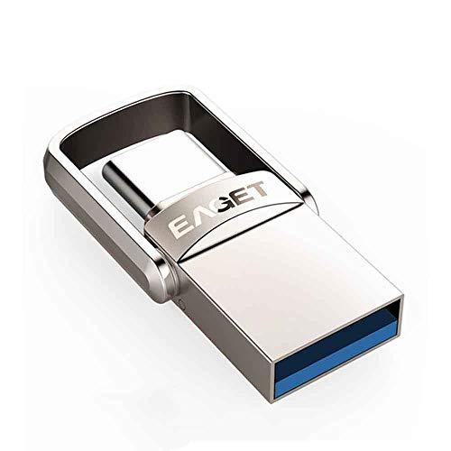 LJ2 Clé USB 3.0, clé USB de Type C Clé USB 32 Go / 64 Go / 128 Go Pendrive pour Huawei pour téléphones Portables Xiaomi,64GB