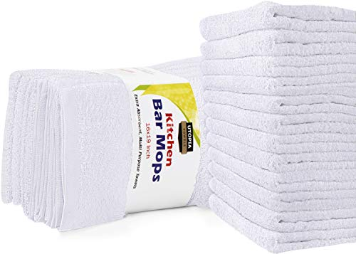 Top 10 Best Selling List for utopia towels kitchen bar mop cleaning