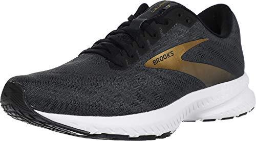 Brooks Launch 7 Ebony/Black/Gold 11