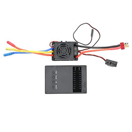 Tarjeta de Programa ESC, múltiples Funciones de protección Controlador de Velocidad eléctrico...