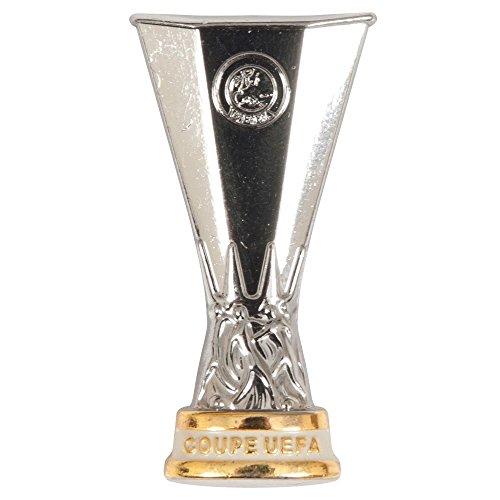 UEFA EUROPA LEAGUE All UEFA EL Pokal Pin Cup 2D, Silver, 3,2 cm