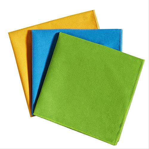 JIAXIA Productos de Limpieza Paño de Limpieza de Microfibra de 5 Piezas para Trapo de absorción de Polvo doméstico Trapos de Limpieza en seco para Sin rasguños Trapo Nuevo 40-40 CM 5PCS Color al Azar