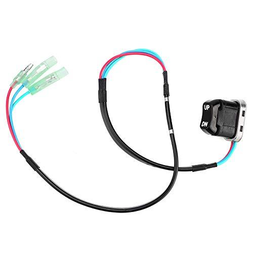 no-branded STF 12 V universal controlador de interruptor de inclinación de ajuste de motocicleta apto para motor fueraborda Yamaha 703825630100