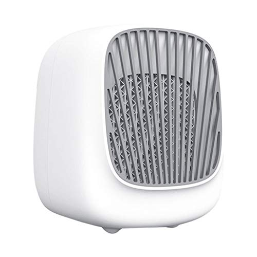 Fan,USB Fan,Websad_Air Cooler,Portable Mini Air Conditioning Fan Household Refrigerator Desktop Cooler in Dormitory White