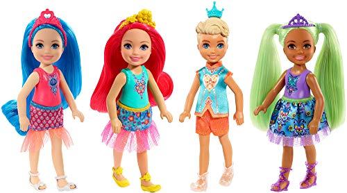 Barbie Chelsea SPRT - Barbie Chelsea (4 piezas)