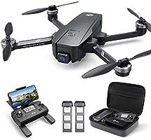 HOLY STONE HS720E GPS Drohne mit 4K EIS UHD Kamera,Quadrocopter ferngesteuert mit 2 Akkus Lange Flugzeit,Follow Me,5G...