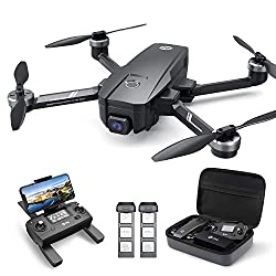 Holy Stone HS720E 4K EIS Drohne mit UHD Kamera und GPS Quadrocopter ferngesteuert mit 2 Akkus Lange Flugzeit,Follow Me,5G WiFi FPV Übertragung,Return Home,Bürstenloser Motor,Anti-Shake für Anfänger