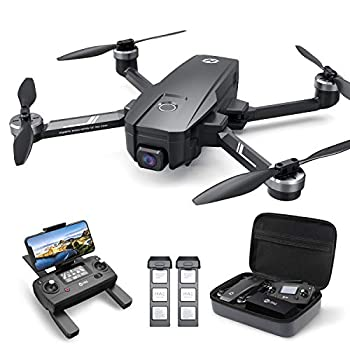 Holy Stone HS720E 4K EIS Drone with UHD Camera for Adults Easy GPS Quadcopter for Beginner with 46mins Flight Time Brushless Motor 5GHz FPV Transmission Auto Return Home Follow Me& Anti-shake Cam