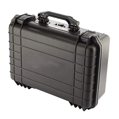 Cajas de Herramientas Vacias Caja de herramientas Maletín Negro caja de herramientas caja de caja de herramienta portátil for Protect Tools Fotografía y Pruebas Equipos y Accesorios Bolsa de Herramien