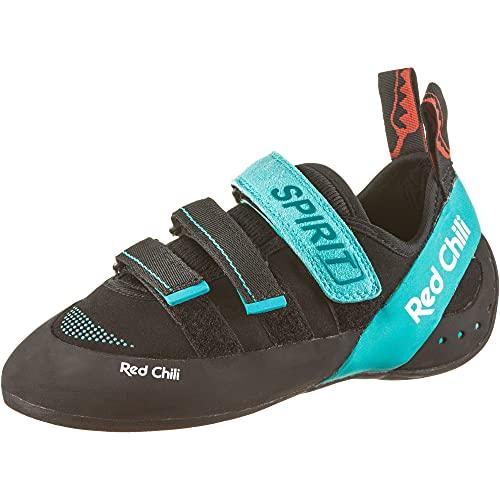 Red Chili Spirit LV IV Kletterschuhe Damen schwarz/grün Schuhgröße UK 5 | EU 38 2021 Boulderschuhe