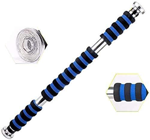 ZGQ Supporta la Porta Equilibrio di Pull up Bar Pull-up unipolari Bambini Blu Anti-Turn sul Muro per Pullup, Mento Bar Pullup Porta Multifunzionale Spinge casa Attrezzature per Il Fitness,Blue,M