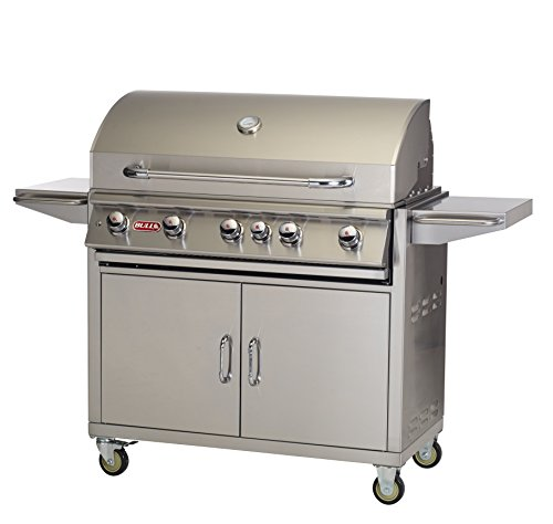 Bull Outdoor Products BBQ 55000 Brahma 90,000 BTU Grill with Cart, Liquid Propane 12-Month Financing Grills Propane