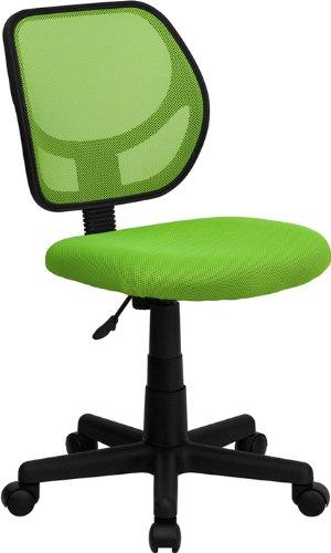 Flash Furniture Mid-Back Green Mesh Swivel Task Chair