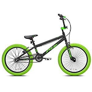 "Offer an Amazingly Smooth,Stylish Ride for Kids with Sense of Adventure with Kent 20"" Boys',Dread BMX Bicycle,Green,for Ages 8-12,Exciting Gift Idea for Their Amazing Tricks -"