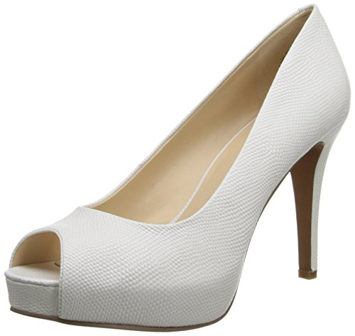 Nine West Women's Camya Leather Platform Pump