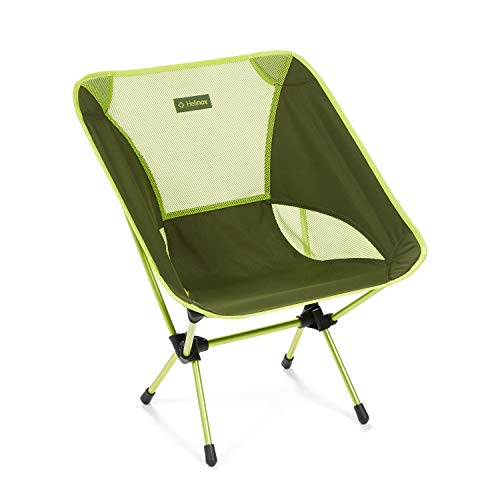 Helinox One stoel Green Blok/Melon 2020 campingstoel
