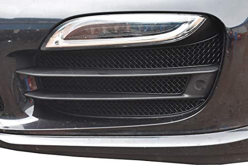 Zunsport Compatible avec Porsche Carrera 991.1 Turbo - Ensemble Calandre Extérieur (avec capteurs de stationnement) - Finition Argent (2011-2015)