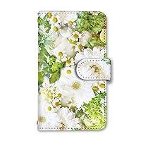 [スマとく] Android One X3 手帳型 ケース カード スマホケース 携帯ケース 携帯カバー スマホカバー スマホカバー アンドロイド ワン エックススリー レザー b181_a 花柄 スマホ手帳型