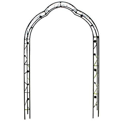 F-XW - Arco para arco de boda, 150 cm de ancho x 250 cm de alto, color negro