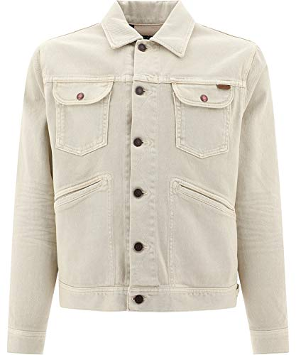 Tom Ford Luxury Fashion Herren BUJ35TFD116M21 Beige Jacke | Frühling Sommer 20