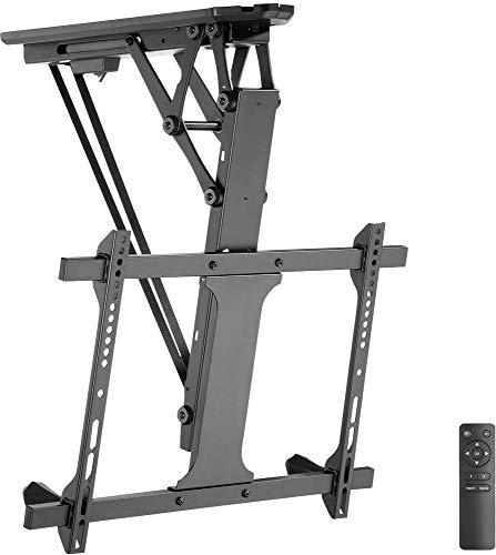 mywall HL 41ML TV-Deckenhalterung Deckenhalter Motorisiert Höhenverstellbar Schwenkbar Drehbar Schwarz