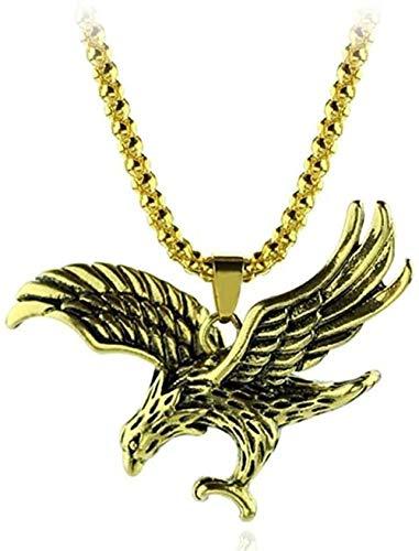 LLJHXZC Collar Collar Romántico Clásico Vintage Águila Collares Pendientes para Joyería Gargantilla Accesorios Collar Collar