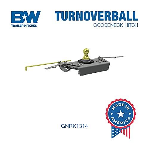 B&W Trailer Hitches Turnoverball Gooseneck Hitch - GNRK1314