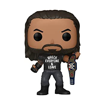 Funko Pop! WWE  Roman Reigns with Title Wreck Everyone and Leave Amazon Exclusive Vinyl Figure