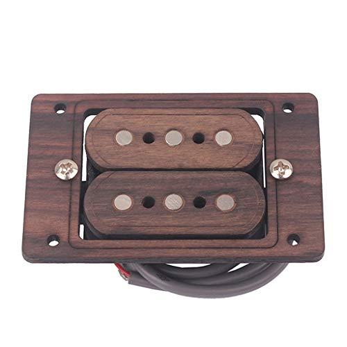 Gazechimp Palisander 3 String Gitarre Humbucker Pickup Musikinstrument Zubehör DIY
