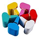 DXIA 180 Piezas Planta Marcadores, Etiquetas y Marcadores de Plástico, Multicolor Marcadores de Plástico en Forma de T, Plantas Reutilizable Etiquetas, Plantas Accesorios de Jardinería