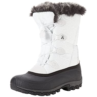 Kamik Women's Momentum Snow Boot,White,8 M US