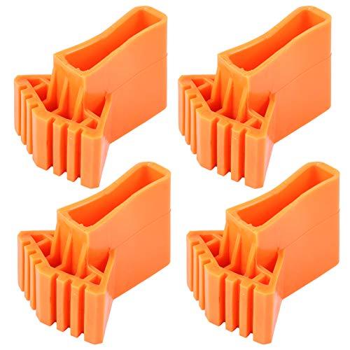 Cabilock 4 Stück Leiter rutschfeste Füße Matte Leiter Gummifüße Matte Leiter Fußkissen Leiter Teile