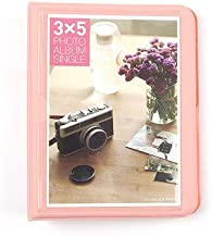 Camera/Video Bags - 32 Pockets 5 inch Book Photo Album For Polaroid for Fujifilm Instax WIDE 210/200/300 Fillms, FP100C, FP 3000B Instant Camera (Pink)