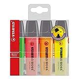 STABILO BOSS Original Marcador fluorescente multicolor - Estuche con 4 colores