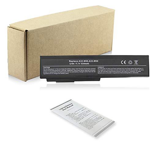 5200mah Notebook A32-M50 A32-N61 Laptop Akku für ASUS G50 G50V G51 G51J G51VX G60 G60JX L50 M50 M50S M50SV M50V M50VC M60 X57 X57V A33-M50 Battery Batterie